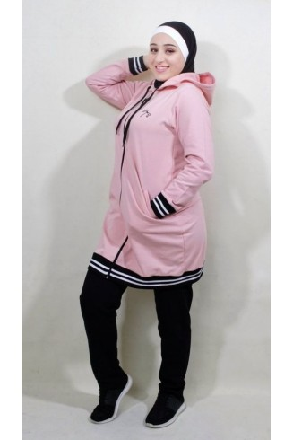 pink pure tracksuit